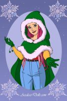 Fluttershy Christmas by MonstrousPegasister