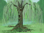 Old Man Willow - #DA-Speedpaint by The-Tinidril