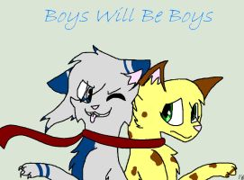 ~Boys Will Be Boys~ by Donniefangirl