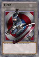 Captain America - Yu-Gi-Oh! Avengers Tokens by DaniOcampo1992