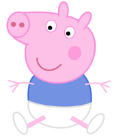 Peppa Pig: George diapered by dev-catscratch