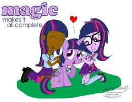 Magic Makes It All Complete by NewportMuse
