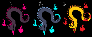 Offer-To-Adopt Dragons (1/3 OPEN) by AvalaAdopts