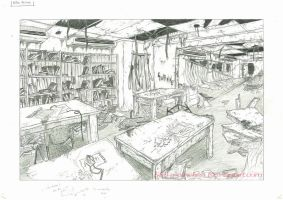 perspective assignment 1 (AFTER) by Shiya-na-chan