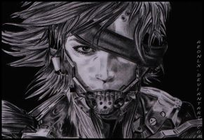 Raiden  - Metal gear solid /rising by AeonlX