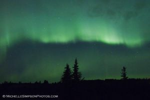Aurora Borealis: 10-12-12 2 by ~MSimpsonPhotos