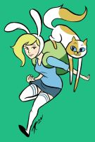 Fionna and Cake by TaylorCarlisle