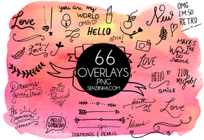 66 PNG Photo Overlays  | by @Sehziinha by sehziinha