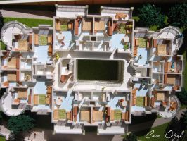 Architectural Scale Model  6 by COZEL