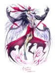 Ultimecia: Griever Hybrid Mode by Nick-Ian