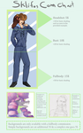 Sklifos Commission Chart | 2016 by someoneabletofindana