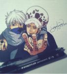 Law and Kakashi by LynGuia