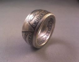 Morgan Dollar Coin Ring by matty1jay