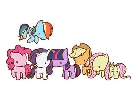 TinyPonies by TuffMuffins