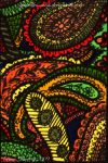 Paisley Dreams  ATC 27 by Quaddles-Roost