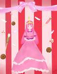 Princess bubblegum by lovelyshaude