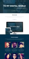 One Page Multipurpose Template by slayerD1