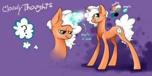 Cloudy Thoughts reference by DoxySocks