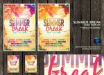 DA Summer Break Flyer Template1  by ranvx54