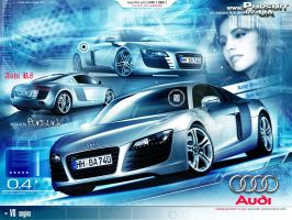 Audi R8 by pursuit-porsche