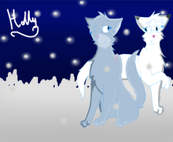 Bluestar and Snowfur by Holly2001