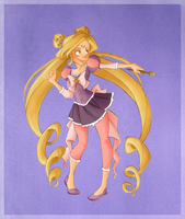 Sailor Rapunzel by VioletKy