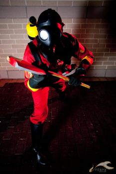Pyro from Team Fortress 2 by negativedreamer