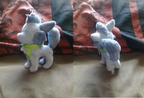 Sushi dog Prototype plush by Rap-Monstah