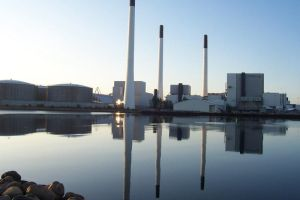 Power plant reflection by 3Drake9