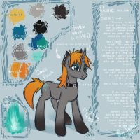 New pony OC - Data Leak by Suane