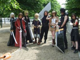 FF7 cosplay group by FullMetalWing