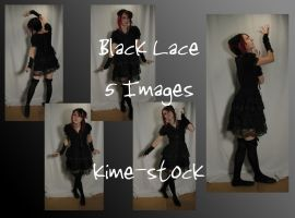 Black Lace 2 by kime-stock