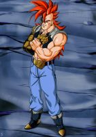 Super Android16 by bloodsplach