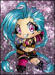 Jinx chibi LOL by DarkMysha