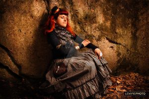 Steampunk photoshoot in Montreal II by Verope