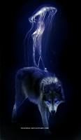The Cold Black by Yellwolf