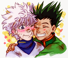 Thank you, Killua! by TaffyDesu
