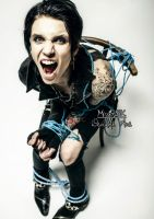 Andy Biersack Action - No escape~ by MisserBK