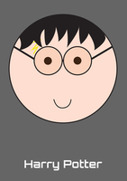 Harry Potter Round Face by jackbauer89