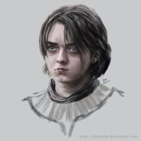 Game of Thrones - Arya Stark by firatbilal