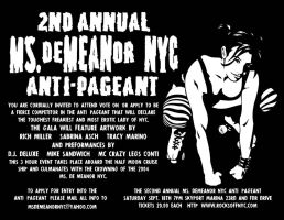 2nd ANNUAL MS.DEMEANOR PAGEANT by filthyrich