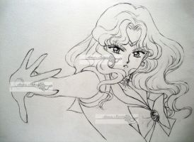 sailor neptune lineart by aramismarron