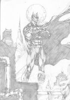 BATMAN - PENCIL - by EDIANO by Ed-Benes-Studio