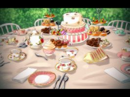 PG: The Welcoming Tea Party by Kavilene