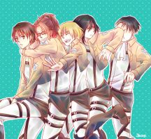 We love Eren by FansyL