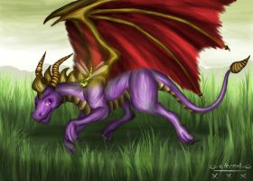 Spyro by FleetingEmber