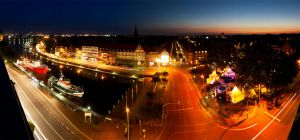 Emden at Night by Scorpidilion