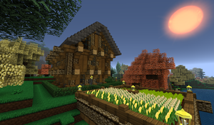 Minecraft - Wooden Home 1 by Shroomworks