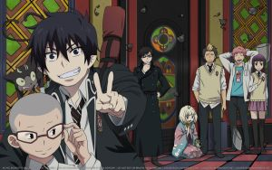 Ao no Exorcist Wallpaper HD: Ao no Tomodachi by elisadevelon