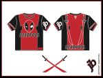 DeadPool T shirt by BigBuddyWill